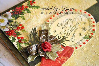 Christmas card by Koczes Weihnachtskarte by Koczes Boże Narodzenie Koczes