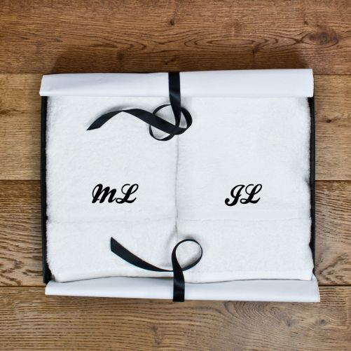 Set of Two Luxury Hand Towels