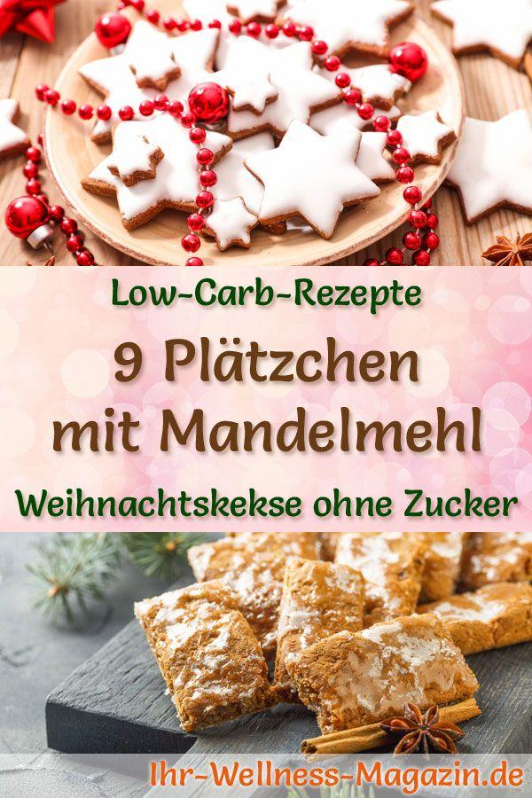 Neue Weihnachtsplätzchen 2019.9 Plätzchen Rezepte Mit Mandelmehl Low Carb Einfach Ohne Zucker