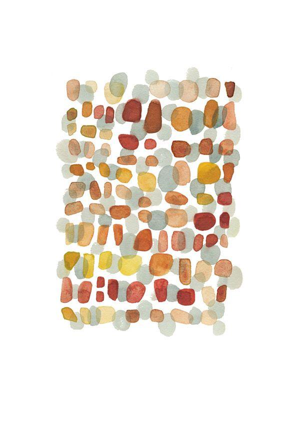Autumn Path by Louise Art Studio
