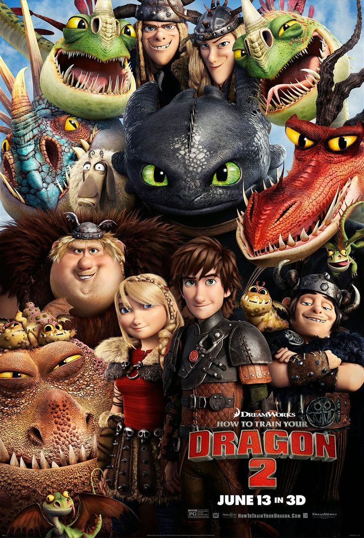 How to Train Your Dragon 2. Amazing movie!! I think this is one of my favorite movie series. Both were amazing! :D