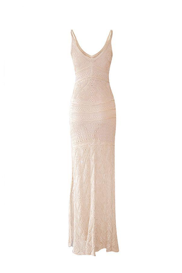 Vestido Tricô Serenity Nude | Galeria Tricot - Galeria Tricot