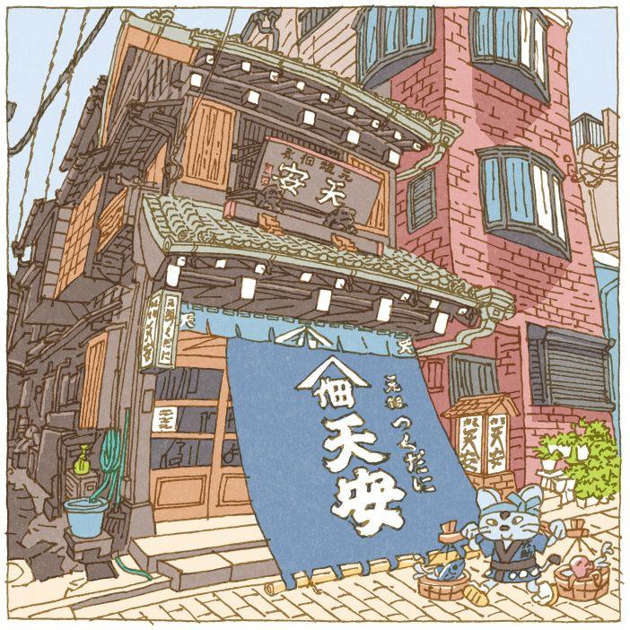 Tokyo 100 views(41〜45) on Behance