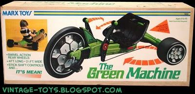 The Green Machine | Old School | Pinterest