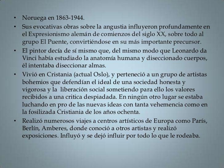 Biografia del pintor.