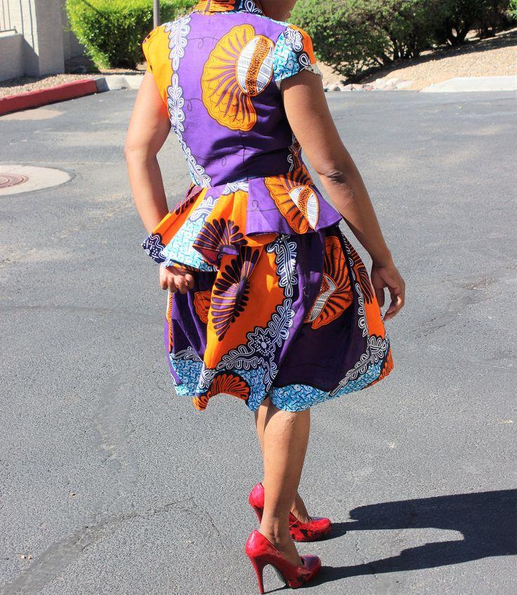 Kitenge top, African top, Ankara top, pagne, tela africana, robe africaine, tissus Africain, tessuti africani, African print, Ankara print by Africshop on Etsy