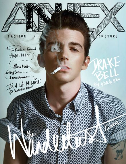 Drake Bell Smoking Hot ANNEX Cover - http://oceanup.com/2014/05/14/drake-bell-annex-smoking-sexual/