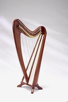 EMS Round Back Celtic Harp, 24 Strings, Semitones « StoreBreak.com – Away from the busy stores