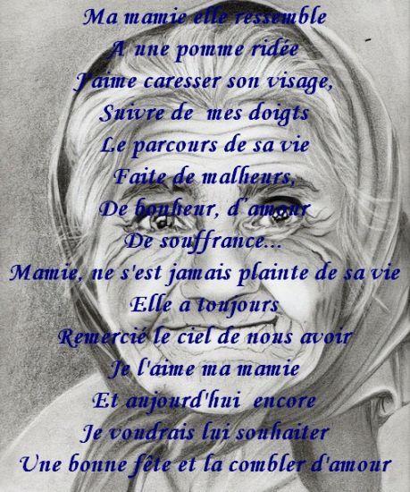 Texte Pour Sa Grand Mere Décédé : texte, grand, décédé, MEILLEUR, POEMES, GRANDS-MERES