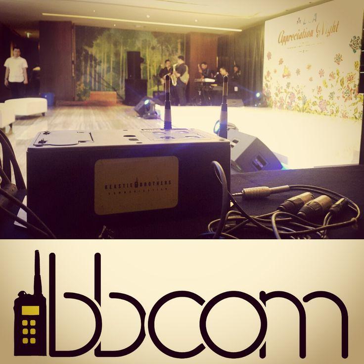 BBCOM Support Jasa Sewa (Rental) Clearcom di Grand Hyatt Jakarta