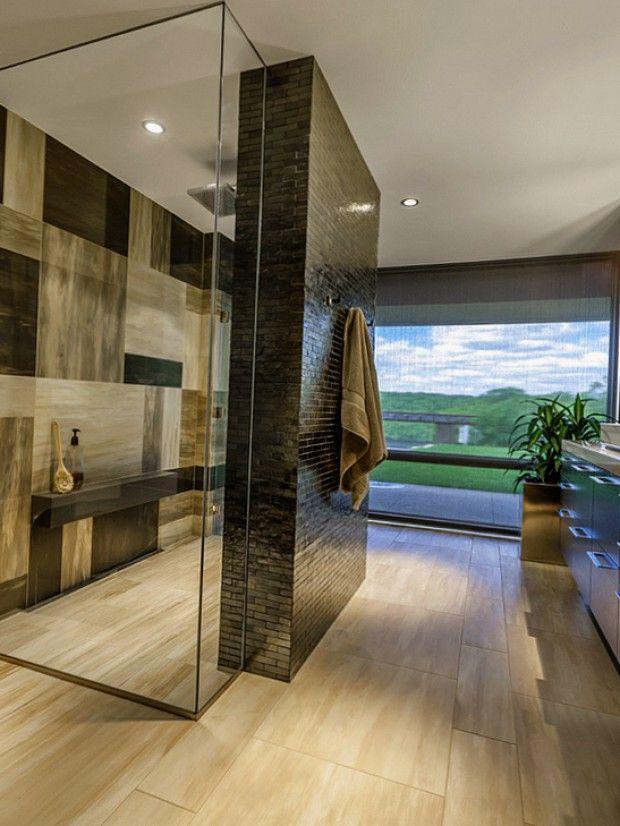 Современное исполнение ванной комнаты