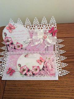 Kraftycards by Chris: Pink easel card