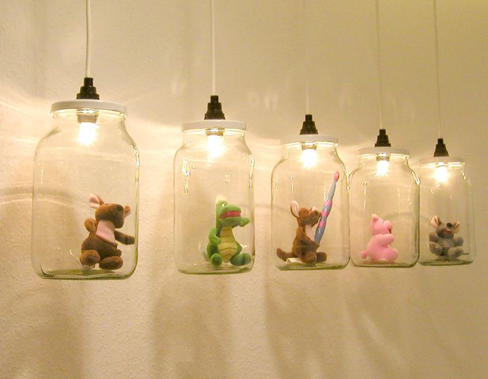 love it!!! Great idea for lamps- maybe for the kids room.