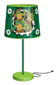 Teenage Mutant Ninja Turtles Metal Table Lamp Under $10 | Get FREE Samples by Mail | Free Stuff