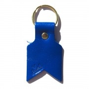 Me & Arrow - royal blue arrow key ring