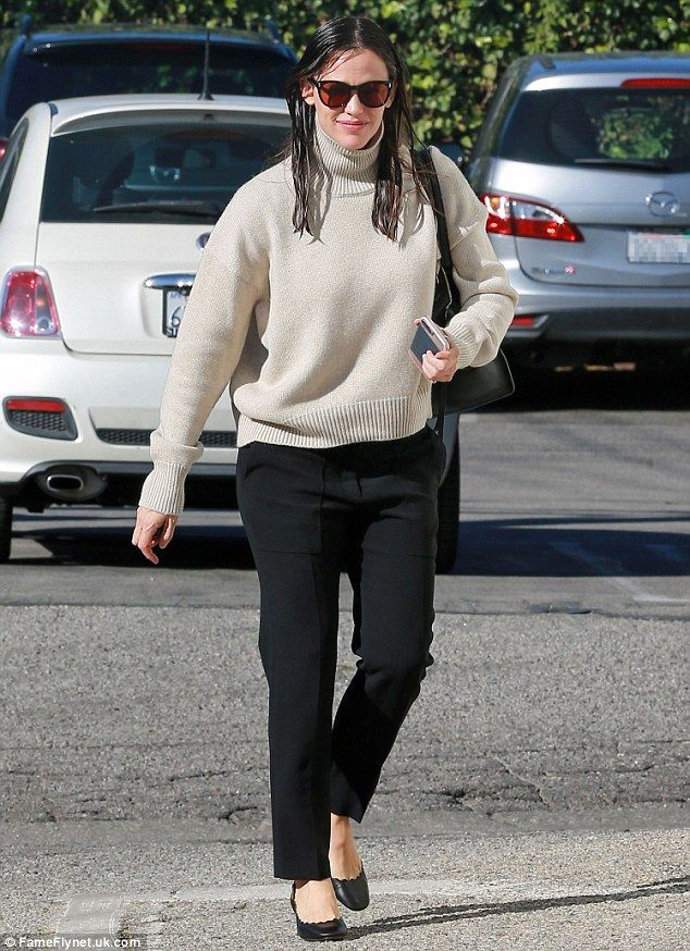 Treat your feet to Jennifer's Chloé leather pumps. Click 'Visit' to buy now. #DailyMail