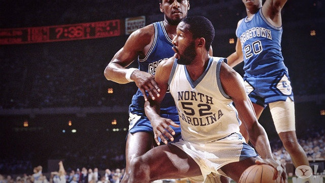 Memorable Moments: James Worthy remembers UNC vs. Georgetown | Watch the video - Yahoo! Sports42