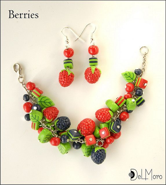 hand made polymer clay jewelry | ... polymer clay fimo this is a handmade jewelry maded of polymer clay