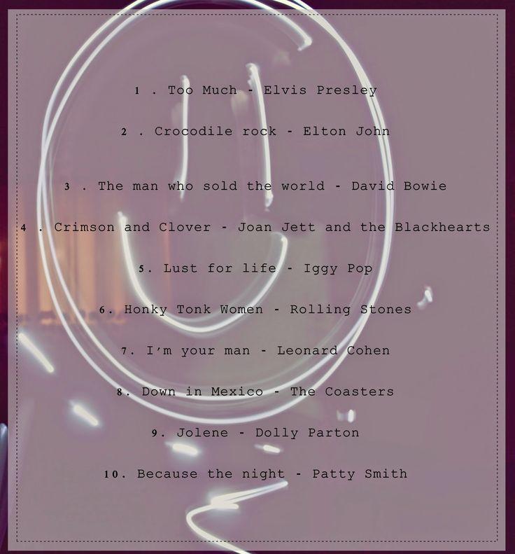 Mipiacequandoascolti: 10 canzoni alla ricerca di un tema (la storia triste di una random playlist)