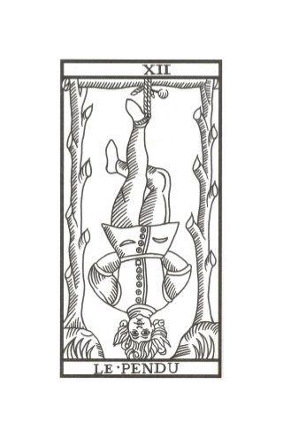 El Colgado Tarot de Marsella de Jodowrosky