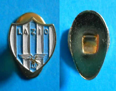 DISTINTIVO SPILLA PIN BADGE LAZIO CALCIO - PIEDINO