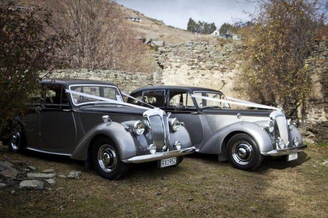 Daimler Consort in Queenstown, New Zealand