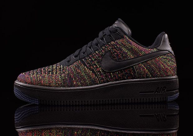 Nike Air Force 1 Ultra Flyknit Low, black multicolor