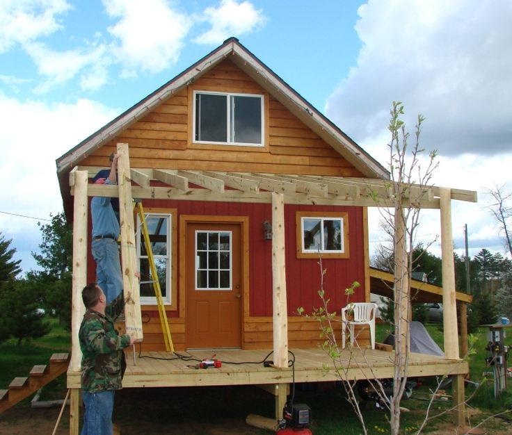 180 best images about porch ideas on pinterest porch for Small cabin additions