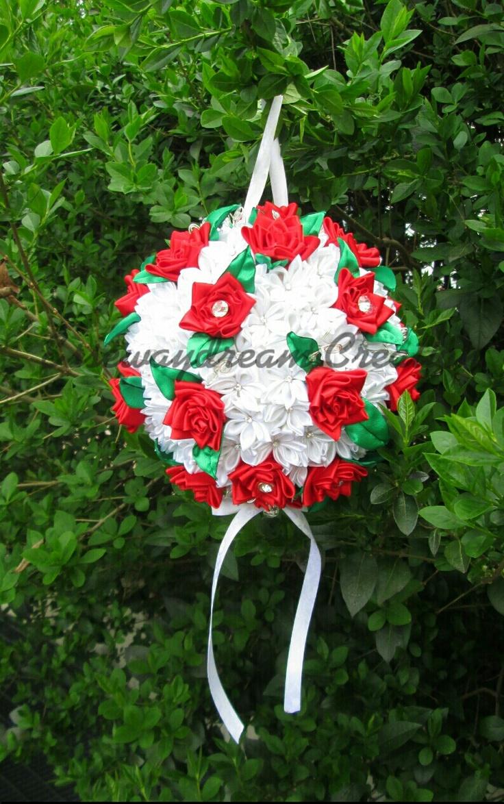 wedding kanzashi bouquet