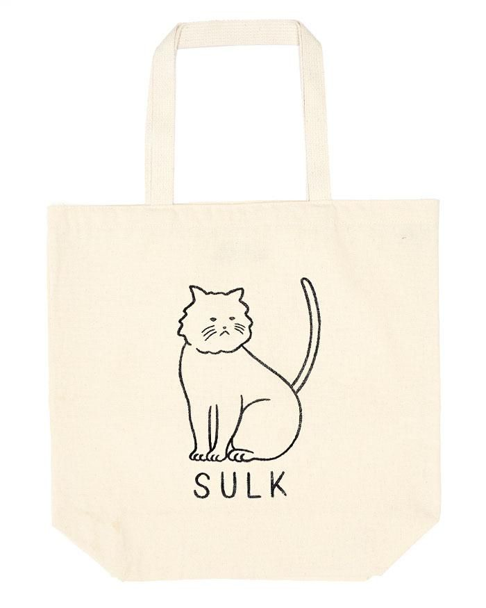60d96d7a8d Sulk Cat Oversized Tote Bag in 2019 | Accessories + Gifts | Bags ...