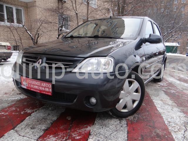 Renault Logan I, 2009 г.в. - с пробегом купить в Москве автосалон Олимп Авто