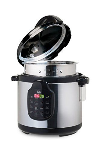 Elite Platinum 11-in-1 Electric Pressure Cooker, Slow Cooker, with 6Qt. Tri-ply Stainless Steel Inner Pot - Includes Accessories  Price: US $75.79 & FREE Shipping  #kitchen #love #home #lovedkitchen