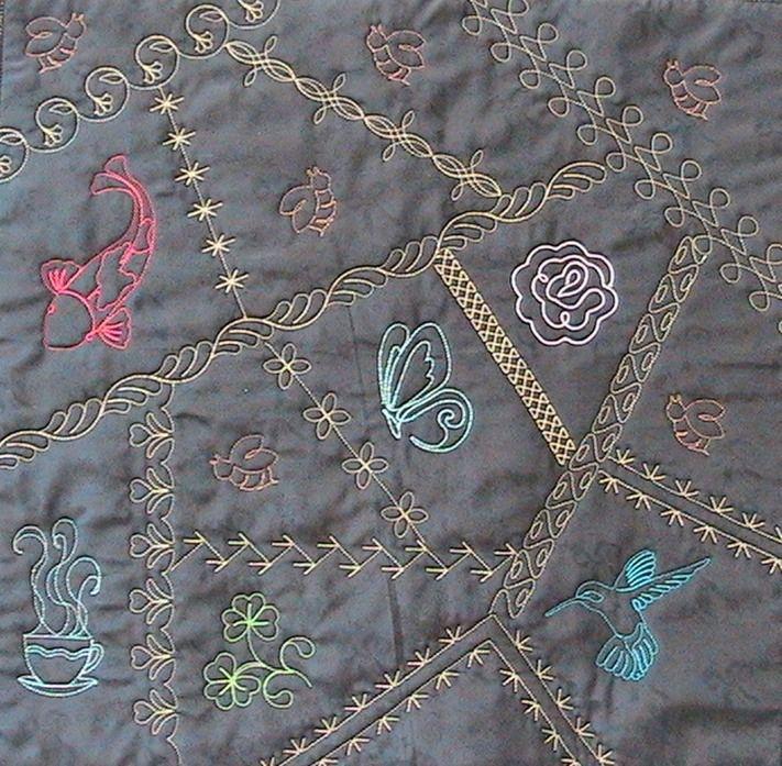 Crazy Quilt Stitches - Helen Baczynski | Hand Sewing | Pinterest
