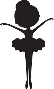 Resultado de imagen para bailarinas en negro manualidades