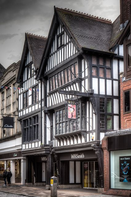 Foregate Street, Chester, England