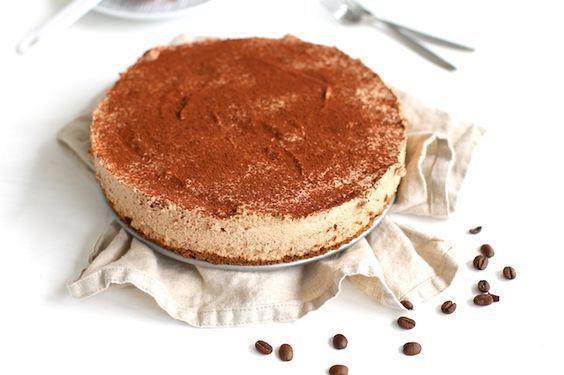 Koffie cheesecake - Lekker en Simpel