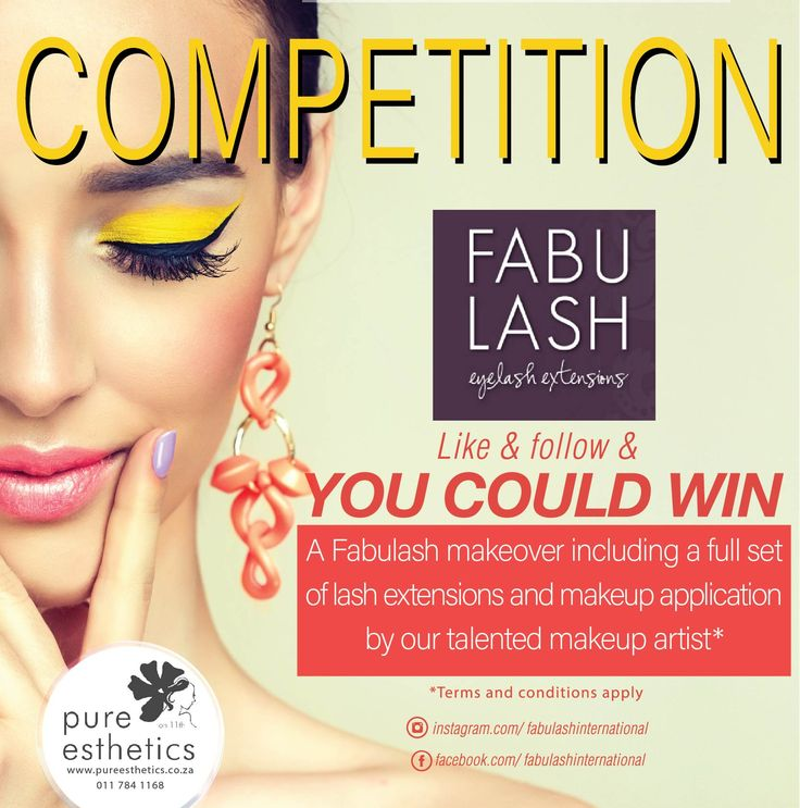 STAND A CHANCE TO WIN A FULL FABULASH MAKEOVER* Like us on Facebook:  Follow us on Instagram: fabulashinternational LIKE and FOLLOW US on both platforms and COMMENT on this post to let us know what is the beauty treatment you cannot live without and stand a chance to win a Full Fabulash makeover* The more you share this post the greater your chance of winning *Terms and conditions apply; Prize winner will be announced at the end of August 2016 Prize includes a full set o…