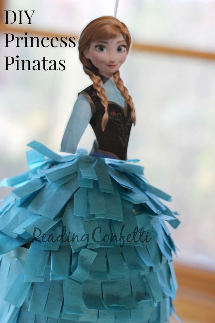 DIY Princess Anna pinata