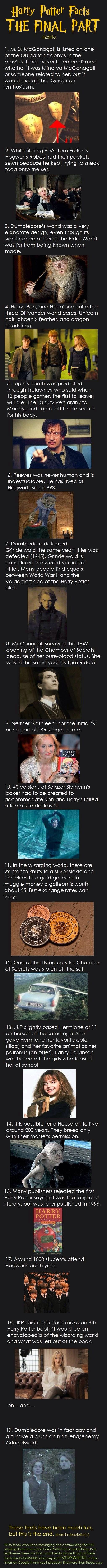 337 best images about harry and ginny on pinterest harry birthday - Harry Potter Facts The Final Part Was Going To Be 19 Facts For The 19 Years That Passed But I Seemed To Of Skipped A Number Whoops T Harry Potter Facts