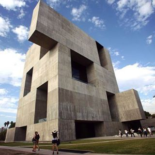 Alejandro Aravena's #Innovation Centre at the #Universidad Catolica de Chile in Santiago, Chile.PHOTO: AGENCE FRANCE-PRESSE  Alejandro Aravena, the first winner from Chile, of architecture's highest prize, the #Pritzker , has focused his career on building low-cost #social housing and reconstructing cities after natural disasters . #ArchitectureHandassat #handassatloves #handassat #architecture