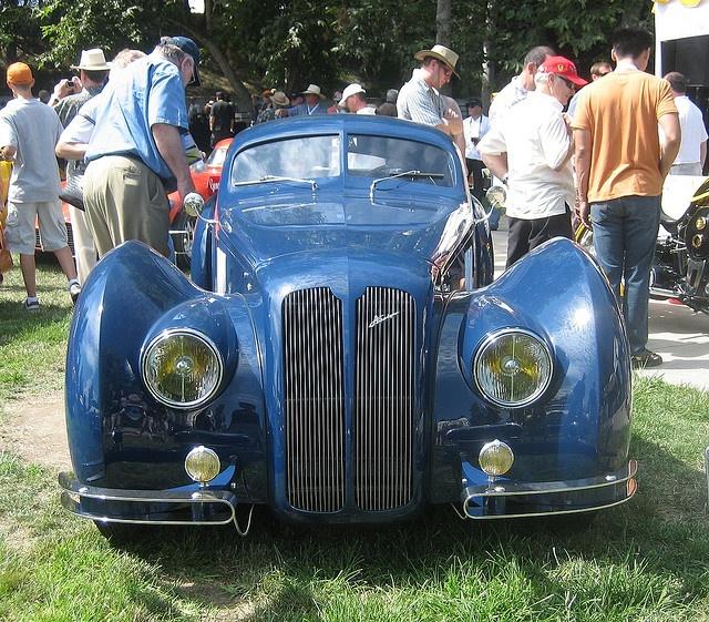 Jaguar Aerodyne Coachbuilt 2 Door Coupe   1956