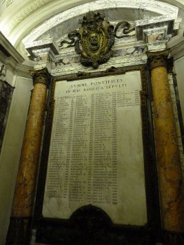A list of the Popes