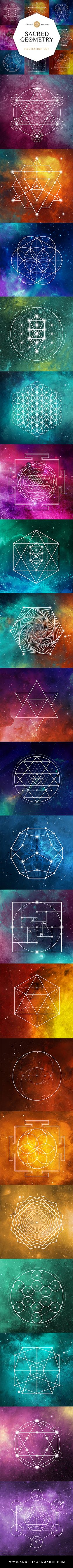 Studies have shown that meditating on sacred geometry can help strengthen the connection between the right