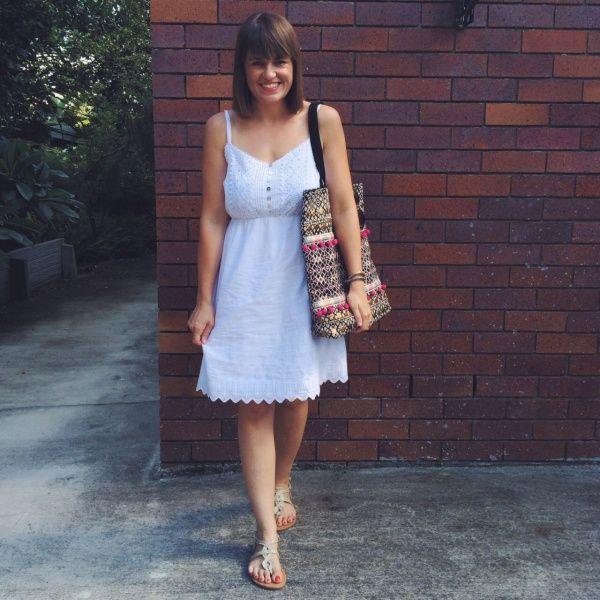 Summer Wardrobe by Pretty Chuffed. DFO Jindalee Just Jeans dress AUD$49.95   DFO Jindalee Cotton On bag AUD$10 and sandals 3 for AUD$10   DFO Jindalee Just Jeans sunglasses AUD$5 https://www.facebook.com/DFOJindaleeQLD
