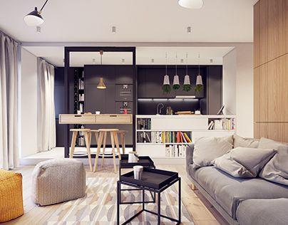 Flat interior designed by PLASTE[R]LINA
