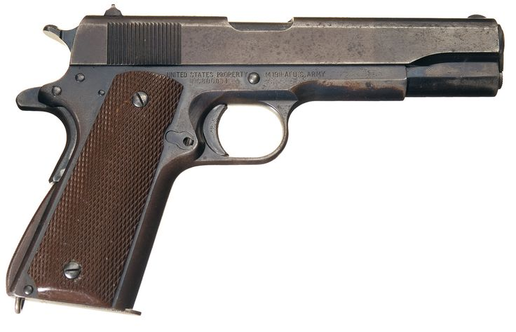 Remaining Government Stock of WWII M1911's Handguns to Be Sold Off to The Public..... - https://www.warhistoryonline.com/war-articles/remaining-government-stock-of-wwii-m1911s-handguns-to-be-sold-off-to-the-public.html