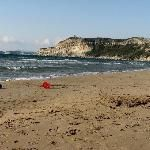 Villages of whitewashed houses, Byzantine churches, Venetian fortresses and vibrant nightlife lure visitors from the resorts and beaches of the most popular Ionian island. Ermones beach attracts many from Corfu town, while picturesque Paleokastritsa, 17 miles Northwest, is definitely worth the drive.