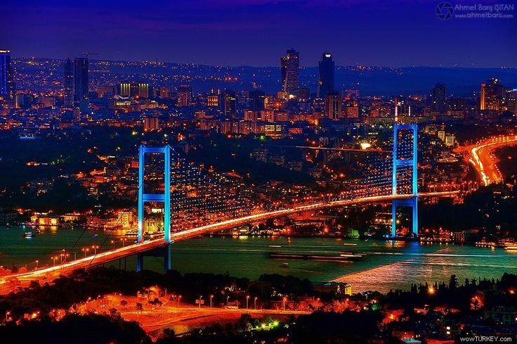 Istanbul Bogazici Bridge