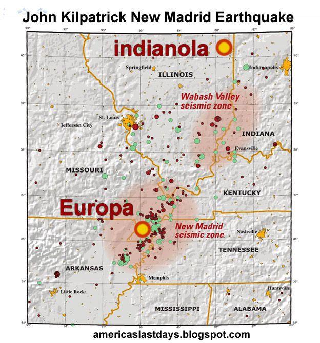 New Madrid Fault Line Earthquakes New Madrid EarthQuake - Missouri fault line map