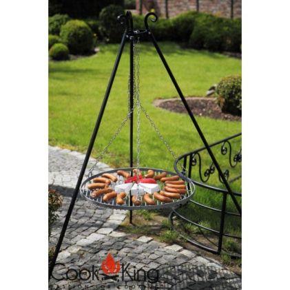 Grill ogrodowy stalowy COOK KING CZARNA STAL 50 cm
